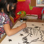 Youth artist Isabella