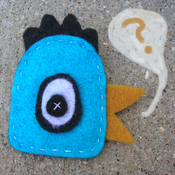 """Make a Cool Creature Pin with Youth Art Mentor Mindy Fisher during one of our """"$15 Fridays"""" workshops!"""