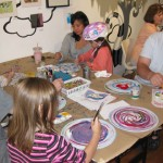 """Rad Record"" painting participants 2011"