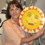 My mom really enjoyed the &quot;Rad Record&quot; painting event! She even received a round of applause for her finished piece.